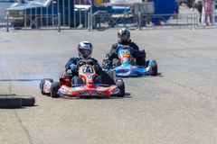 Race karting Stock Photography
