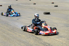 Race karting Royalty Free Stock Images