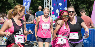 Race for Life 2017 Stock Photography