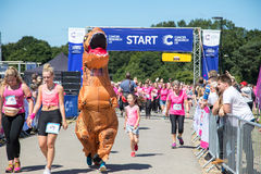 Race for Life 2017 Royalty Free Stock Image