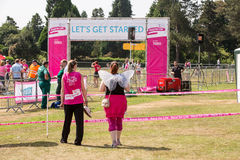 Race for Life Stock Images
