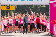 Race for Life Royalty Free Stock Photography