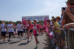 Race for Life Stock Photo