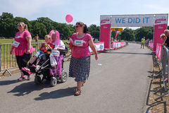 Race for Life Royalty Free Stock Images