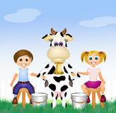 Race milking Stock Images
