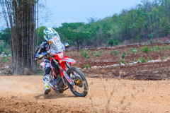 Race Moto Cross , F2 Thailand Rally Championship 2017,Classic car model and brand diversity. Join the championship in r Stock Photos