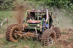 Race of offroad Stock Photo