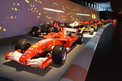 Race parade at Museo Nazionale dell'Automobile Stock Image
