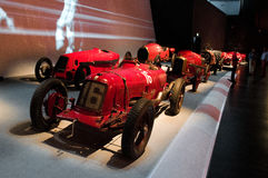 Race parade at Museo Nazionale dell'Automobile Stock Photography
