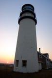 Race Point Light is a historic lighthouse on Cape Cod, Massachusetts.  Stock Photos