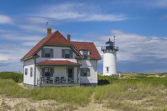 Race point lighthouse Royalty Free Stock Image