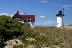 Race Point Lighthouse in Provincetown Massachusetts Stock Photography