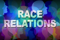 Race Relations Royalty Free Stock Photo