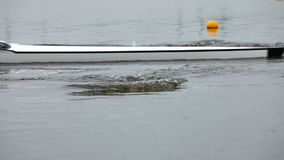 Race on rowing. Start of the race stock video footage