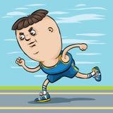 Race Runner Stock Photo