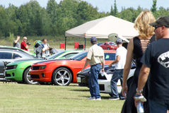Race the Runway Event Royalty Free Stock Image