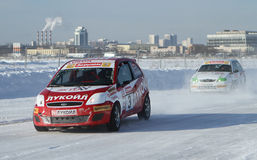 Race Stars in Moscow Royalty Free Stock Photography
