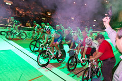 Race start at Sixday-Nights Zürich 2011 Stock Photography