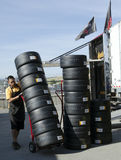 Race Tires Stacked for use Royalty Free Stock Photography