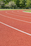 Race track. With green grass stock photo