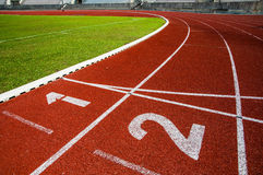 Race track. In arena sport Thailand stock photos
