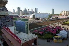 Race track, Calgary Royalty Free Stock Photos