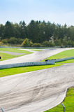Race track. A car and motorcycle race track royalty free stock images