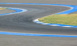 Race track curve road for car / motorcycle racing. Race track curve road for car motorcycle racing stock image