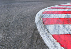 Race track detail Royalty Free Stock Image