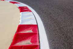 Race Track. Formula one race track taken at Bahrain International Circuit royalty free stock photography