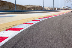Race Track. Formula one race track taken at Bahrain International Circuit royalty free stock image
