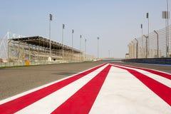 Race Track. Formula one race track taken at Bahrain International Circuit stock photography