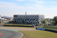 Race Track with hotel in Oschersleben, Germany Royalty Free Stock Images