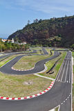 The race track in the mountains of Madeira Stock Image