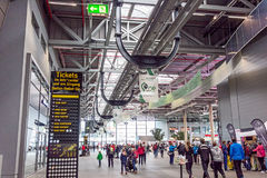 Race track Nurburgring - entrance hall Stock Image
