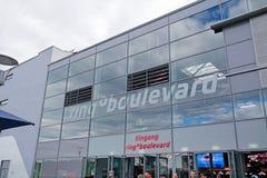 Race track Nurburgring - entrance Royalty Free Stock Photos