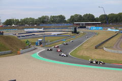 Race Track in Oschersleben, Germany Stock Photography