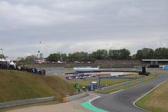 Race Track in Oschersleben, Germany - Porsche Cup Royalty Free Stock Image