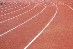 Race track at stadium Royalty Free Stock Photography