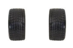 Race used tires Royalty Free Stock Images