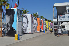 Race Village Volvo Ocean Race 2014 - 2015 Royalty Free Stock Images