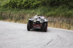 Race vintage car one thousand miles 2015 Stock Photography