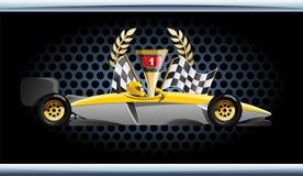 Raceauto. Stock Afbeelding