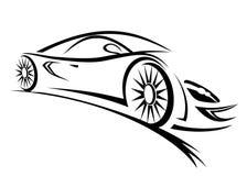 Raceauto Stock Afbeeldingen