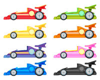 Raceauto vector illustratie