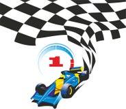 Raceauto Stock Afbeelding