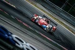 Raceauto royalty-vrije stock afbeeldingen