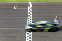 Raceauto het rennen royalty-vrije stock foto's