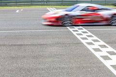 Raceauto het rennen stock afbeeldingen