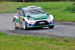 Raceauto Jaromir Tarabus Royalty-vrije Stock Afbeelding